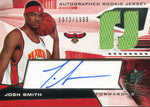 Josh Smith Autographed 2004 Upper Deck Rookie Jersey Card Front