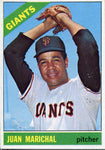 Juan Marichal Unsigned 1965 Topps Card