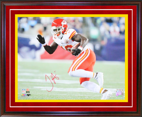 Tyreek Hill Autographed Framed 11x14 Photo (JSA)