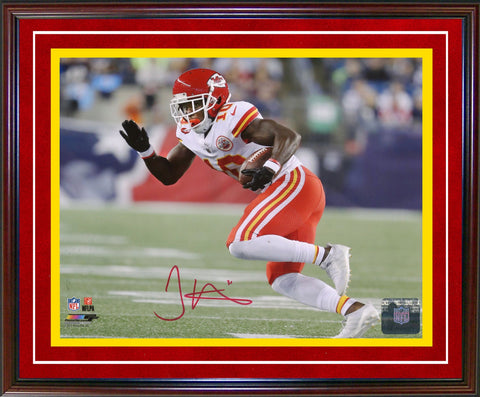 Tyreek Hill Autographed Framed 8x10 Photo (JSA)