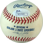 Kevin Mench Autographed Baseball Back