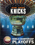 1975 New York Knicks World Championship Playoff Program
