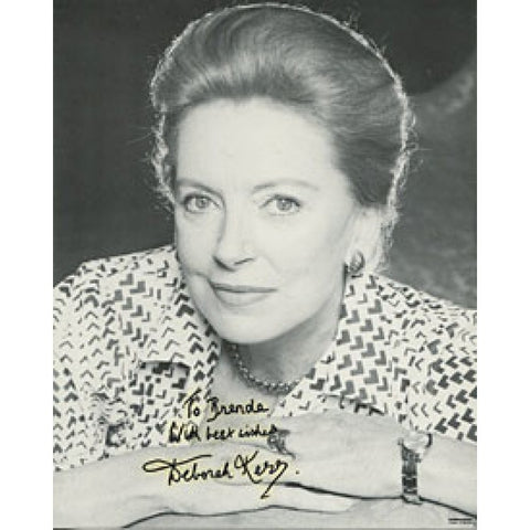 Deborah Kerr Autographed/Signed 8x10 Photo
