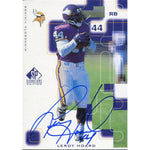 Leroy Hoard Autographed 1999 Upper Deck SP Card