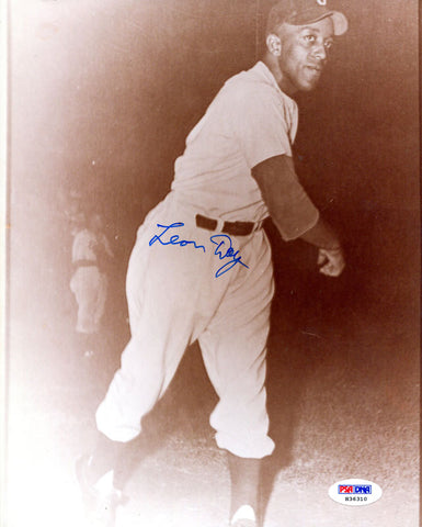 Leon Day Autographed 8x10 Photo