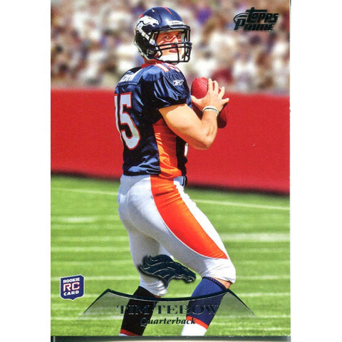 Tim Tebow Unsigned 2010 Topps Card
