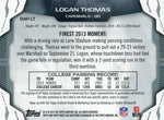 Logan Thomas Autographed 2014 Topps Finest Rookie Jersey Card