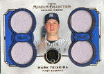 Mark Teixeira Unsigned 2013 Topps Museum Collection Jersey Card
