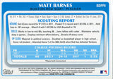 Matt Barnes Unsigned 2011 Bowman Rookie Card