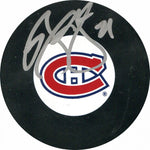 Brian Gionta Autographed Puck (JSA)