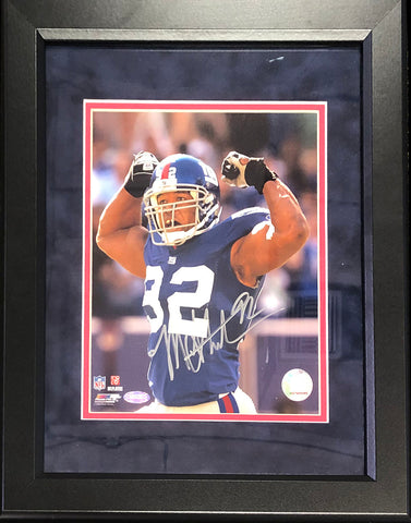 Michael Strahan Autographed Framed 8x10 Photo (Steiner)