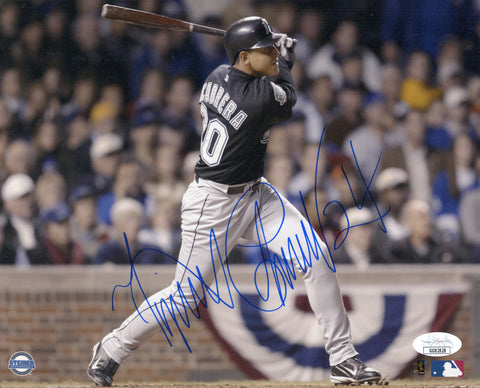 Miguel Cabrera Autographed 8x10 Florida Marlins World Series Photo (JSA)