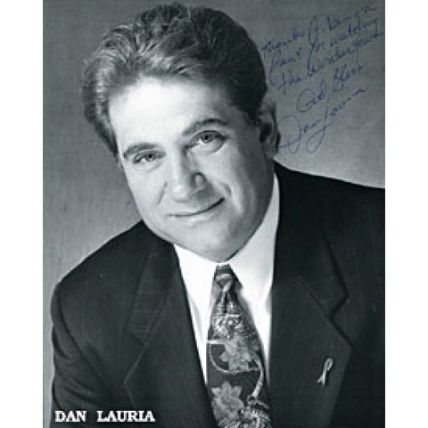 Dan Lauria Autographed / Signed Black & White 8x10 Photo