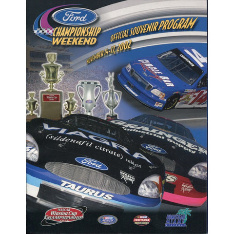 Ford Championship Weekend At Miami Offical Program 2002
