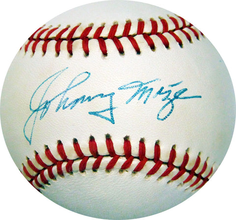 Johnny Mize Autographed JSA Official Major League Baseball