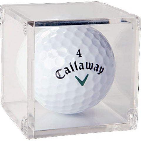 Golf Ball Acrylic Display Cube Box of 6