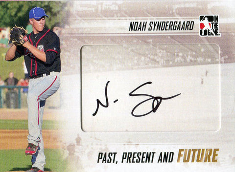 Noah Syndergaard Autographed 2013 In the Game Card