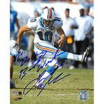 Olindo Mare Autographed / Signed Kicking 8x10 Photo