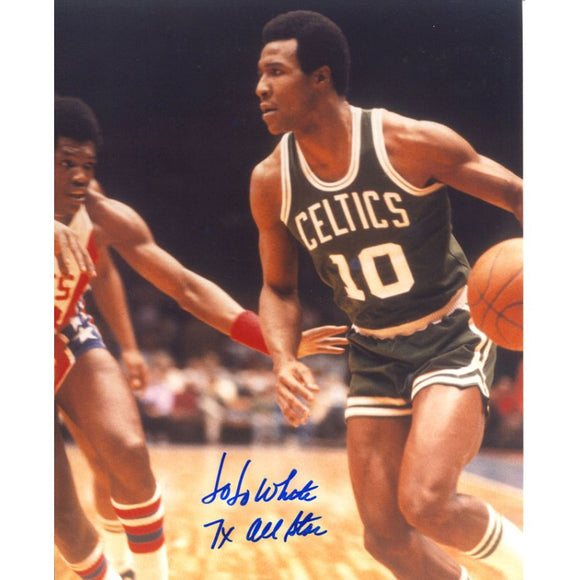 Jo Jo White 7x All Star Autographed 8x10 Photo