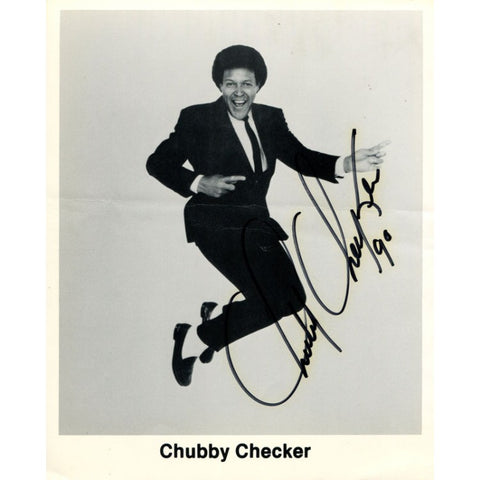 Chubby Checker Autographed 8x10 Photo