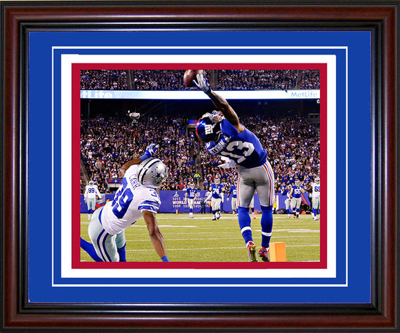 Odell Beckham Jr Framed One-Handed Touchdown Catch 8x10 Photo