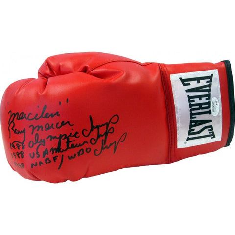 Ray Mercer Autographed Everlast Boxing Glove (JSA)