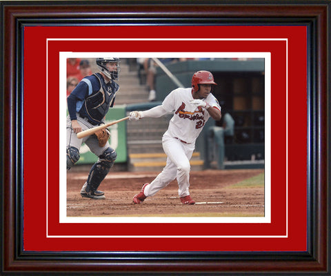 Oscar Taveras Unsigned Framed 8x10 Photo