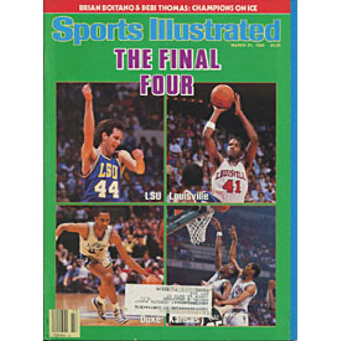 The Final Four 1986 Sports Illustrated