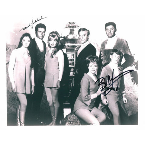 Mark Goodard & Bill Mumy Autographed 8x10 Photo