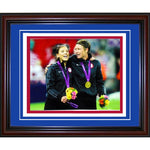 Hope Solo & Abby Wambach Unsigned Framed 11x14 Photo