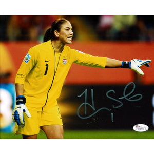 Hope Solo Autographed 8x10 Photo