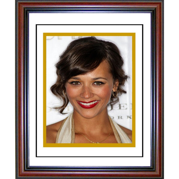 Rashida Jones Framed 8x10 Photo