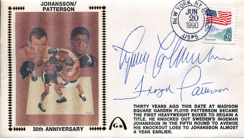 Ingemar Johansson & Floyd Patterson Autographed Gateway First Day Cover