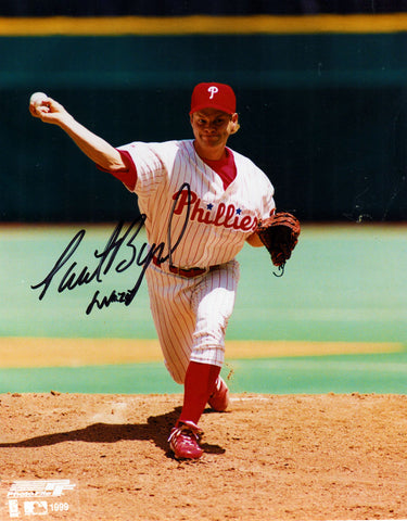 Paul Byrd Autographed 8x10 Photo