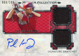 Paul Goldschmidt Autographed 2014 Topps Jersey Card Front