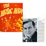 Peter Marshall Autographed / Signed The Music Man Program