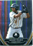 Gregory Polanco 2013 Bowman Platinum Card