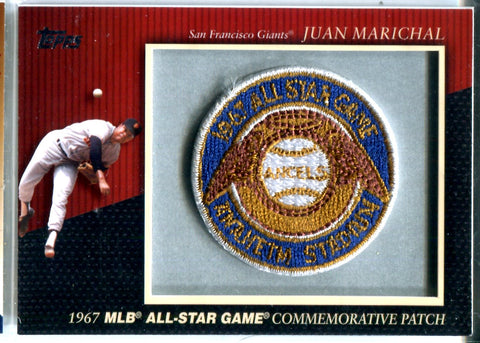 Juan Marichal 2010 Commemorative Patch Card