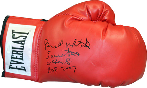 Pernell Whitaker Autographed Everlast Boxing Glove (JSA)