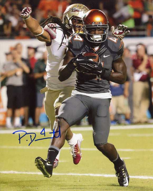 Phillip Dorsett Autographed Vs. FSU 8x10 Photo