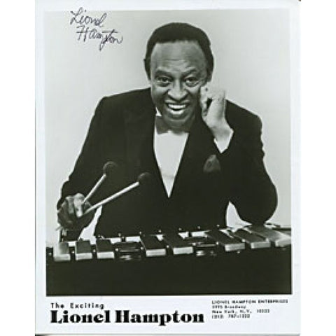 Lionel Hampton Autographed / Signed 8x10 Photo