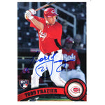Todd Frazier Autographed 2011 Topps Rookie Card