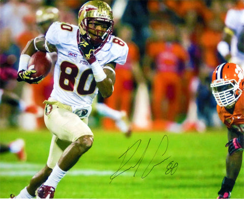 Rashad Greene Autographed Vs. Clemson Tigers 16x20 Photo