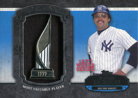 Reggie Jackson Unsigned 2013 Topps Pin Card