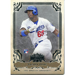 Yasiel Puig Unsigned 2013 Topps Triple Threads Rookie Card