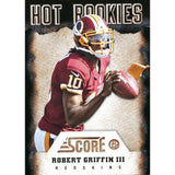 Robert Griffin III Unsigned 2012 Score Rookie Card