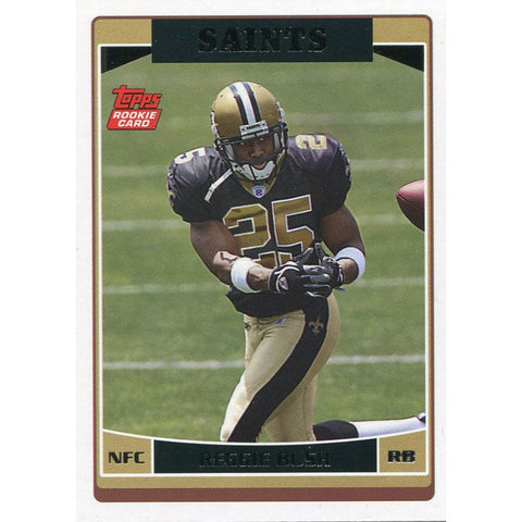 Reggie Bush Unsigned 2006 Topps Rookie Card
