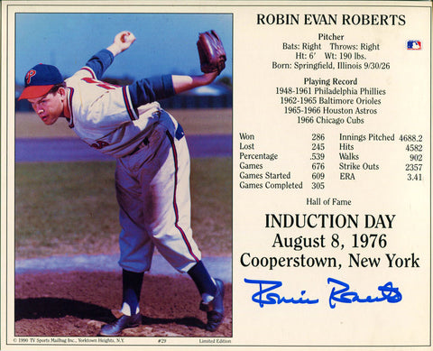 Robin Evan Roberts Autographed 8x10 Photo