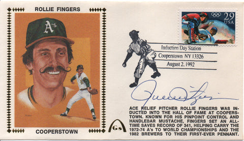 Rollie Fingers Autographed Aug 2 1992 First Day Cover