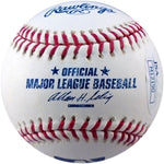 Rollie Sheldon Autographed Multi Inscribed Baseball (JSA) Back